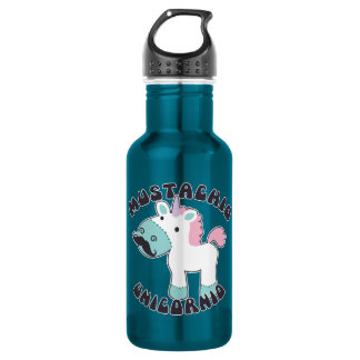 Mustachio Unicornio 532 Ml Water Bottle