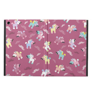 Mustachio Unicornio iPad Air Cover