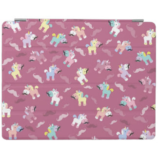 Mustachio Unicornio iPad Cover