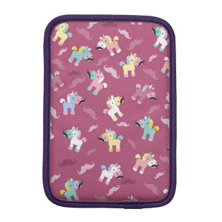Mustachio Unicornio iPad Mini Sleeve