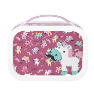 Mustachio Unicornio Lunch Box