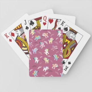 Mustachio Unicornio Playing Cards