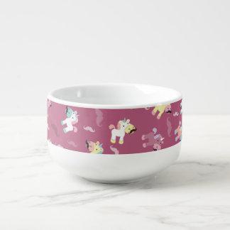 Mustachio Unicornio Soup Mug