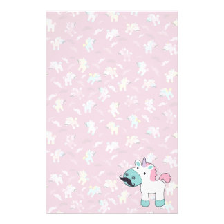 Mustachio Unicornio Stationery