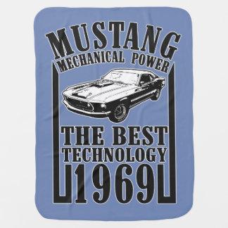 Mustang Baby Blanket