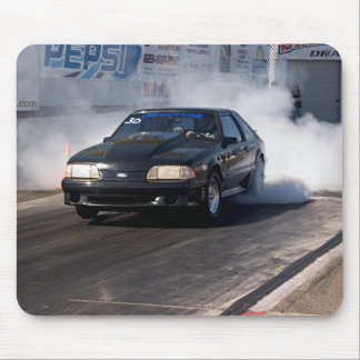 Mustang Burn-Out Mousepad