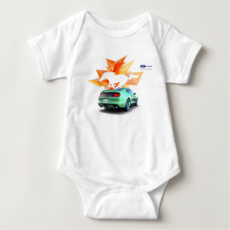 Mustang Customizer Baby Bodysuit