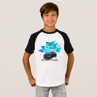 Mustang Customizer Kids' Raglan T-Shirt