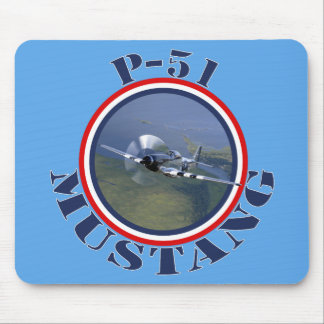 Mustang Fighter Mouse Pad