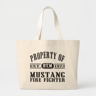 Mustang Fire Fighter Canvas Bag