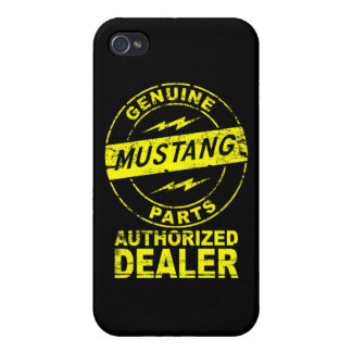 Mustang Genuine Parts iPhone Case iPhone 4 Cases