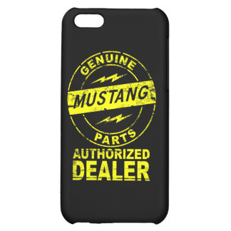 Mustang Genuine Parts iPhone Case iPhone 5C Cover