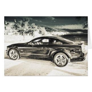 Mustang GT Card