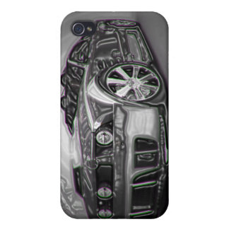Mustang GT Case For iPhone 4