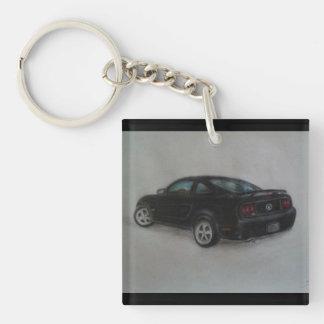 Mustang GT Key Ring