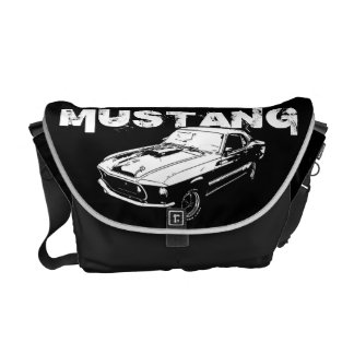 Mustang mechanical power commuter bag