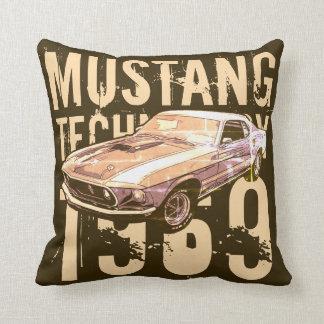 Mustang mechanical power cushion