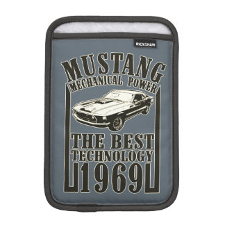 Mustang mechanical power iPad mini sleeve