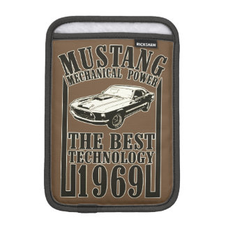 Mustang mechanical power iPad mini sleeve