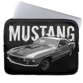 Mustang mechanical power laptop sleeve