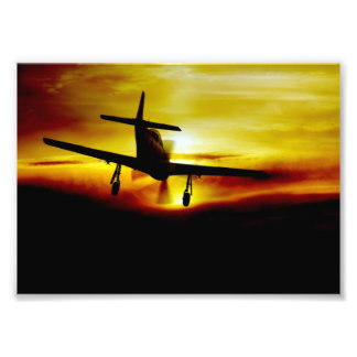 Mustang Recovery Photographic Print