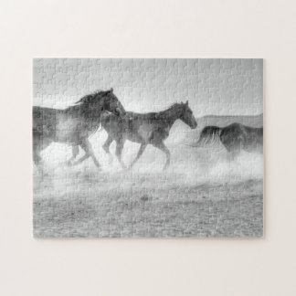Mustang Run Jigsaw Puzzle