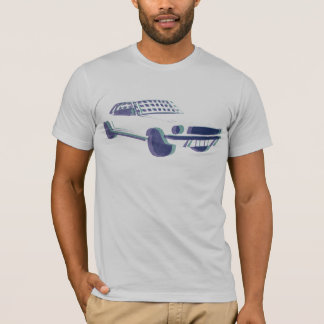 Mustang Silk Screen T-Shirt