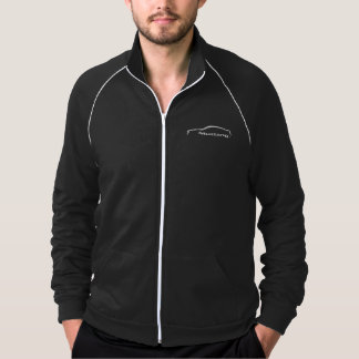 Mustang White Silhouette Logo Jacket