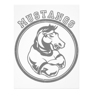 Mustangs Sports Graphic Full Color Flyer