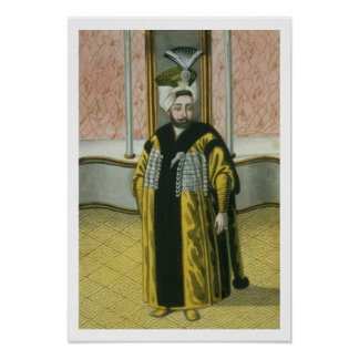 Mustapha IV (1779-1808) Sultan 1807-8, from 'A Ser Poster