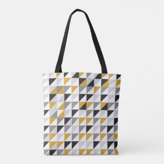 Mustard, Black, Gray Tote Bag