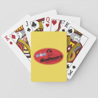 Mustard Club Playing Cards