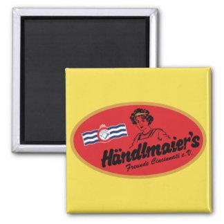 Mustard Club Refrigerator Magnet
