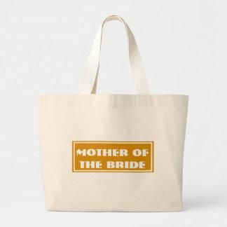 Mustard Mother of the Bride Wedding Jumbo Tote Bag