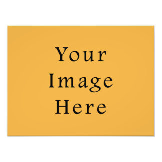 Mustard Yellow Color Trend Blank Template Photo Art