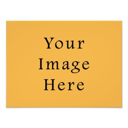 Mustard Yellow Color Trend Blank Template Photograph