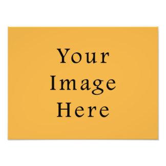 Mustard Yellow Colour Trend Blank Template Photo Art