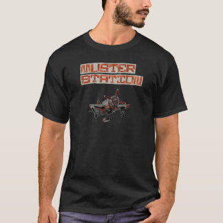 Muster Station-Civil Disobedience Plane T-Shirt