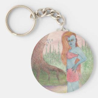 Mutant Ana Anastasia Basic Round Button Key Ring