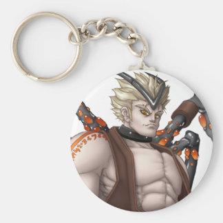 Mutant Anime Hero Basic Round Button Key Ring