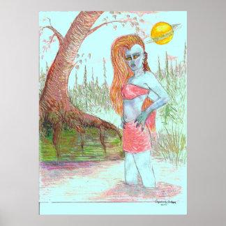 Mutant Anna Anastasia 2, Art Signature Print