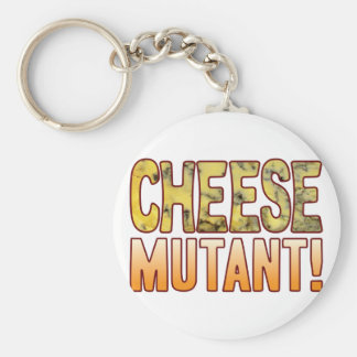 Mutant Blue Cheese Basic Round Button Key Ring