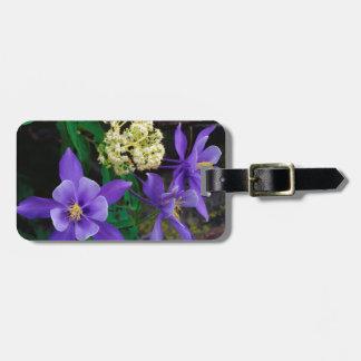 Mutant Columbine Wildflowers Luggage Tag