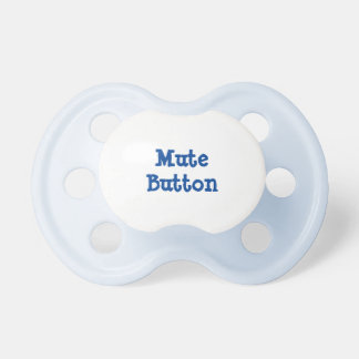 Mute button soother