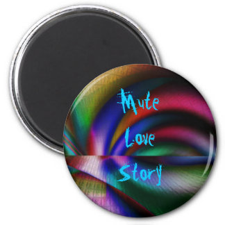 Mute Love Story Magnet