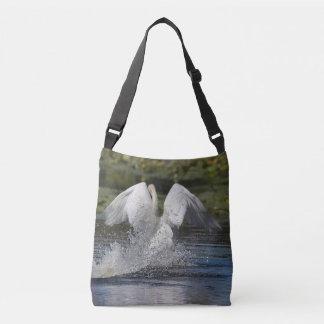 Mute swan crossbody bag