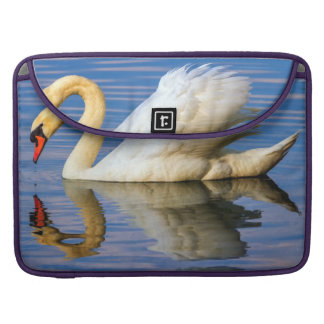 Mute swan, cygnus olor sleeve for MacBook pro