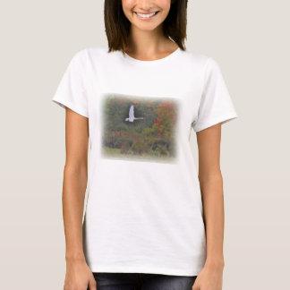 Mute Swan in Flight T-Shirt