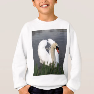 Mute Swan On Lake Sweatshirt