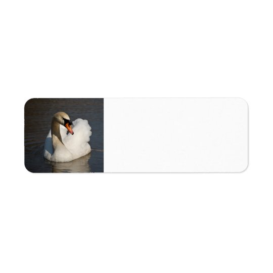 Mute Swan Return Address Label